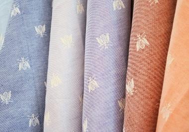 Tessuti in misto lino